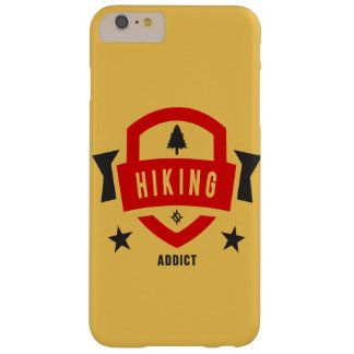 I Love Hiking ( Hike Badge ) Barely There iPhone 6 Plus Case