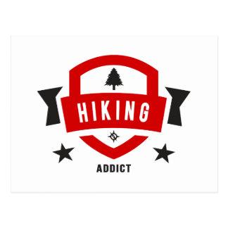 I Love Hiking ( Hike Badge ) Postcard