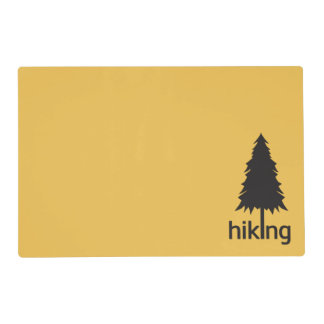 I Love Hiking ( Hike ) Placemat