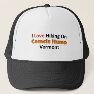 I love hiking on Camels Hump, Vermont Trucker Hat