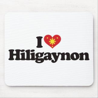 I Love Hiligaynon Mouse Pad