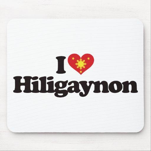 I Love Hiligaynon Mousepad