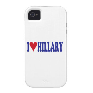 I Love Hillary Vibe iPhone 4 Cover