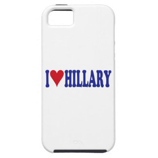 I Love Hillary iPhone 5 Cases