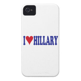 I Love Hillary iPhone 4 Case-Mate Cases