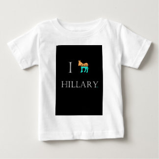 I love Hillary Clinton 2016 Baby T-Shirt