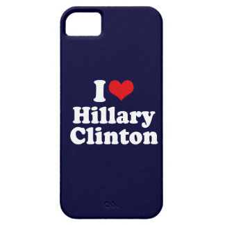 I LOVE HILLARY CLINTON 2016 iPhone 5 COVER