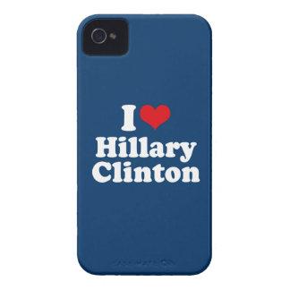 I LOVE HILLARY CLINTON 2016 iPhone 4 Case-Mate CASE