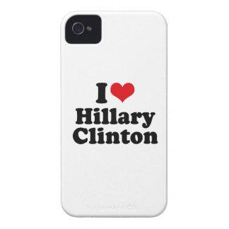 I LOVE HILLARY CLINTON iPhone 4 COVER