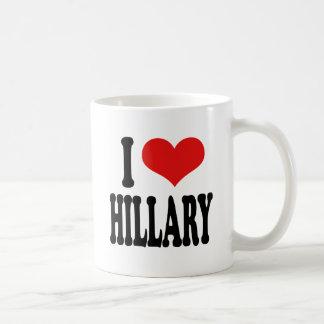 I Love Hillary Coffee Mug