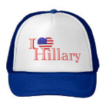 I love Hillary Hat