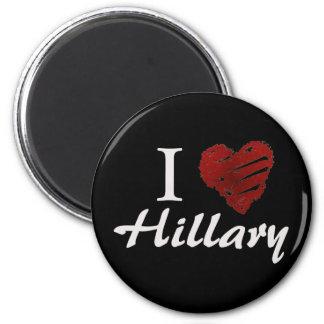I love Hillary Magnet