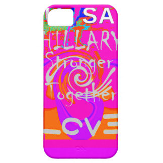 I Love Hillary USA President Stronger Together art iPhone SE/5/5s Case