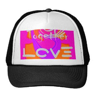 I Love Hillary USA President Stronger Together art Trucker Hat