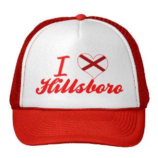 I Love Hillsboro, Alabama Trucker Hat