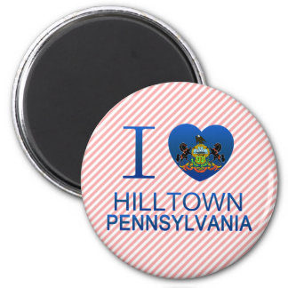 I Love Hilltown, PA Magnets