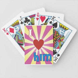 I love him card deck