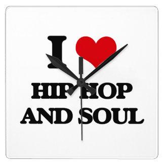 I Love HIP HOP AND SOUL Wallclock