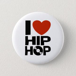 I Love Hip Hop Button