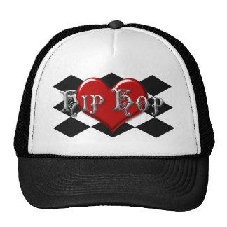 I Love Hip Hop Checkers Trucker Hat