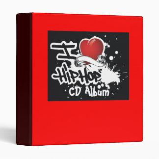 I Love Hip Hop - Designer CD Album Binder
