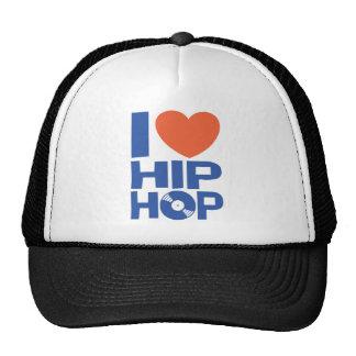 I Love Hip Hop Hat Mesh Hat
