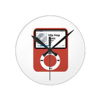 I love Hip Hop Music Clock