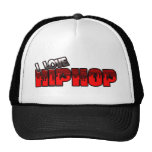 I Love HIP HOP Music Mesh Hat