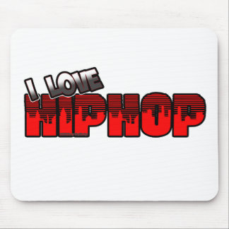 I Love HIP HOP Music Mouse Pad