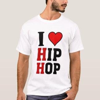 I love Hip Hop Music T-Shirt