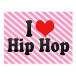 I Love Hip Hop Postcards