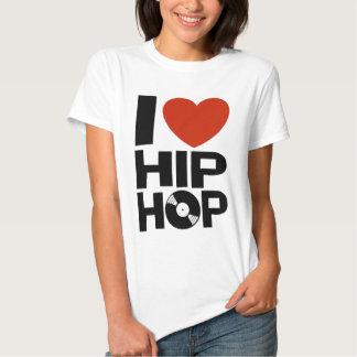I Love Hip Hop Shirt
