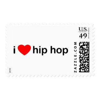 I Love Hip Hop Stamp