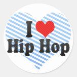 I Love Hip Hop Sticker