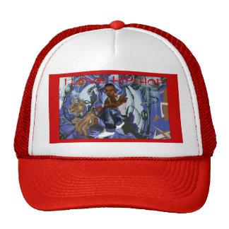 I LOVE HIP-HOP TRUCKER HAT