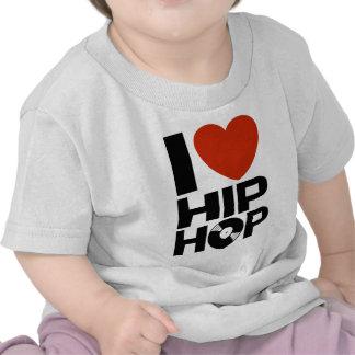 I Love Hip Hop Tshirts