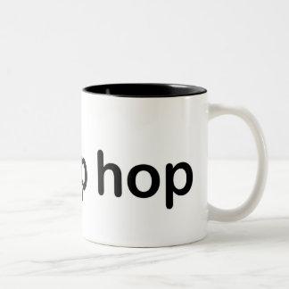 I Love Hip Hop Two-Tone Coffee Mug