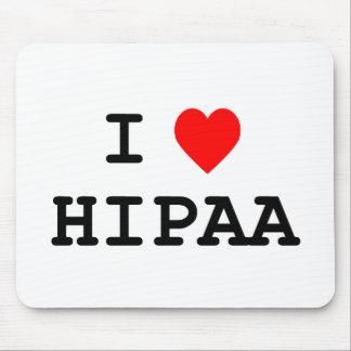 I Love HIPAA Mousepad