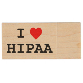 I Love HIPAA USB Drive