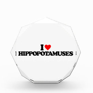 I LOVE HIPPOPOTAMUSES AWARD