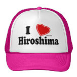 I Love Hiroshima Mesh Hat