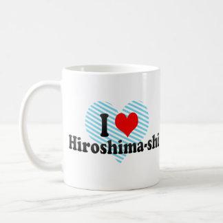 I Love Hiroshima-shi, Japan Classic White Coffee Mug