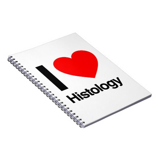i love histology spiral note book