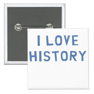 I Love History Button
