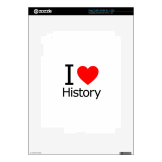 I Love History iPad 2 Decal