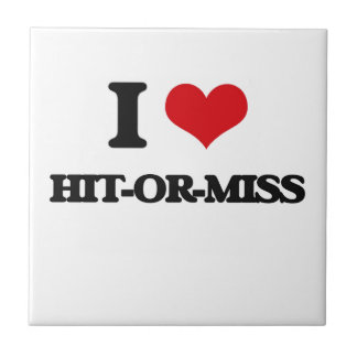 I love Hit-Or-Miss Small Square Tile