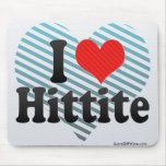 I Love Hittite Mouse Pads