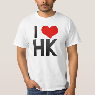 I Love HK Shirt