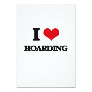 I love Hoarding 3.5x5 Paper Invitation Card