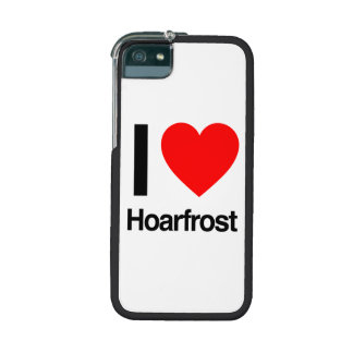 i love hoarfrost case for iPhone 5/5S